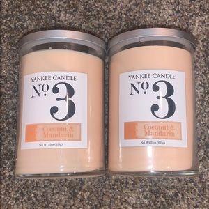 Bundle Yankee Candle No 3 Coconut & Mandarin 🔥